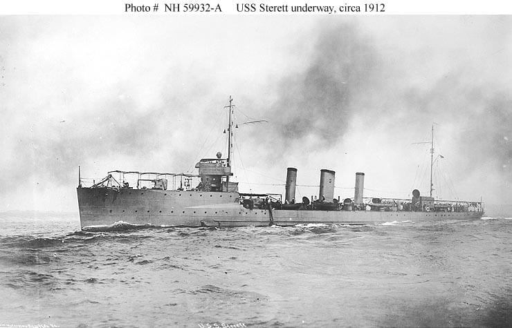 USS Sterett DD27