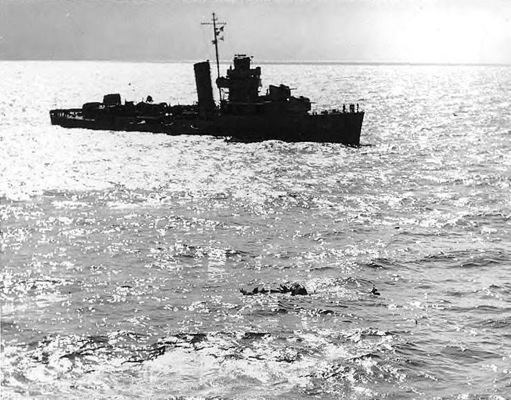 1947 DD-407 investigates an aircraft crash
