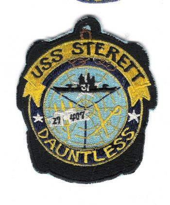 uss sterett dauntless insignia