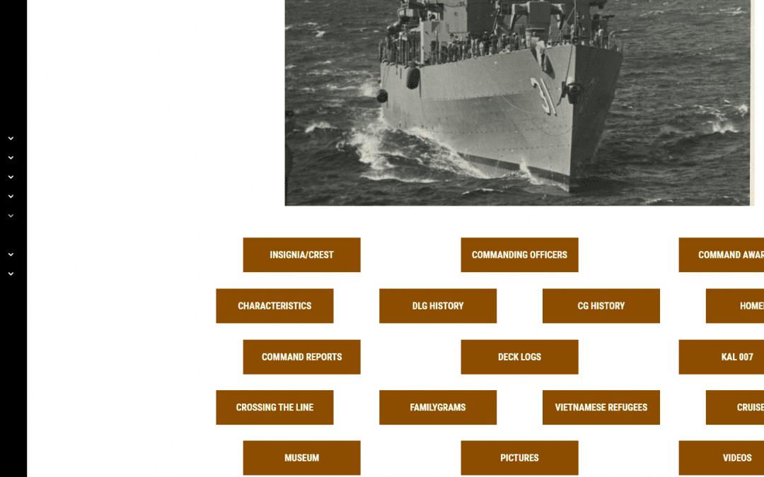 New DLG/CG-31 Webpage
