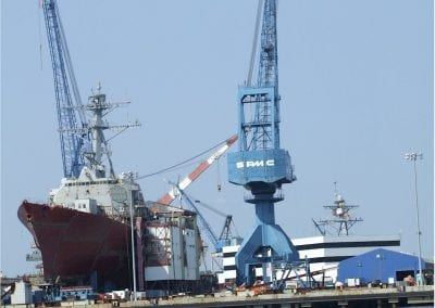 September 17 2006, under construction at Bath Iron Works, Bath, ME
